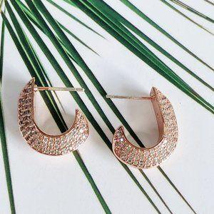 Kate Spade 925 Silver Diamond Earrings